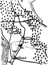 Karte von 1751