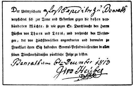 Josef Heubes Vertrag