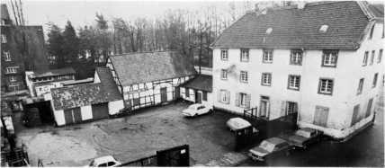 Haus Spilles vor der Renovierung